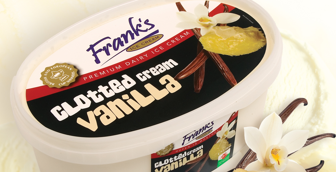 Frank's Ice Cream Ltd packaging