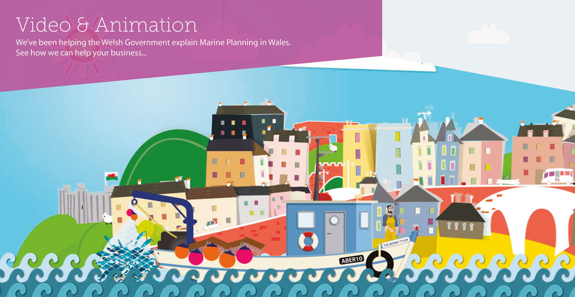 Video & Animation Welsh Government Marine Planning in Wales