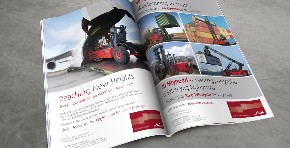 Linde Heavy Trucks Advertising
